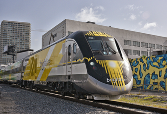 Brightline will build a high speed rail connecting Victorville to Las Vegas