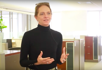 Former JLL CFO Christie Kelly in a 2016 promotional video.