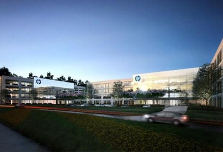 HP Inks 378k SF Pre-Lease For Springwoods Village Campus