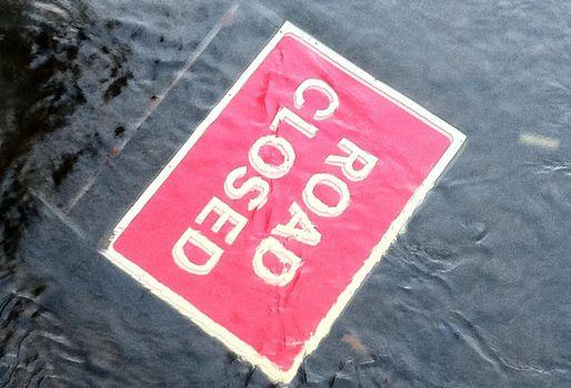 Burst Water Main Floods Houston's 610 East Loop, Disrupting Business Across The City