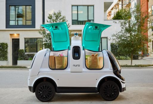 Nuro To Start Deliveries For Walmart And Domino's