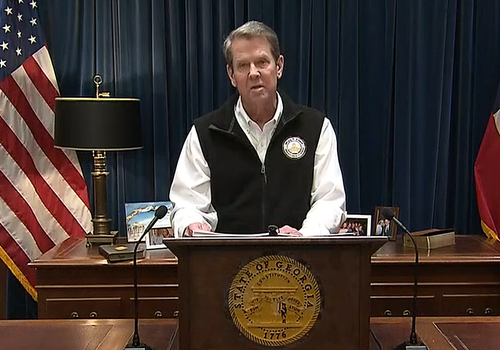 Gov. Kemp Issues New Restrictions As CRE Pain Over Coronavirus Deepens
