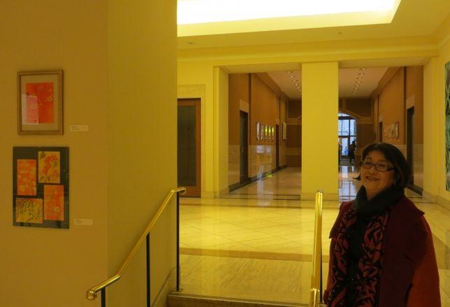 Lobby or Art Gallery?
