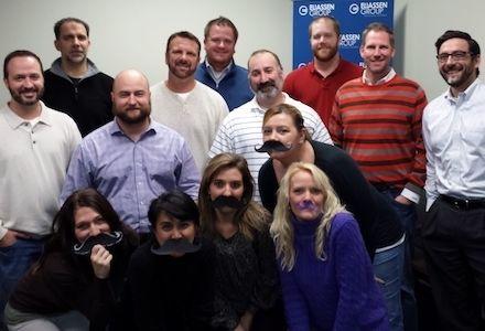 Our Movember Challenge Winner