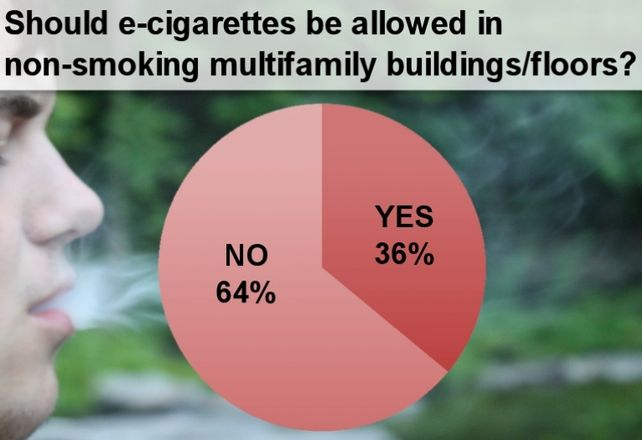 E-Cigs and Multifamily