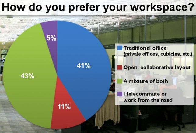 Our Creative Office Survey Says...