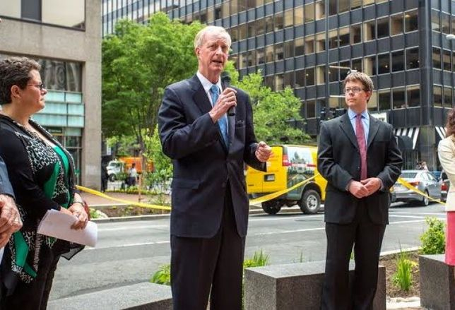 Jack Evans Welcomes Birds and Bees  (and Butterflies)