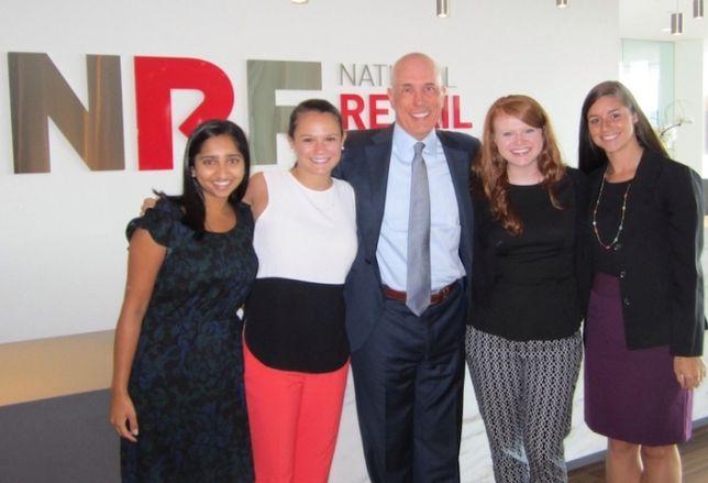 Meet NRF's Interns