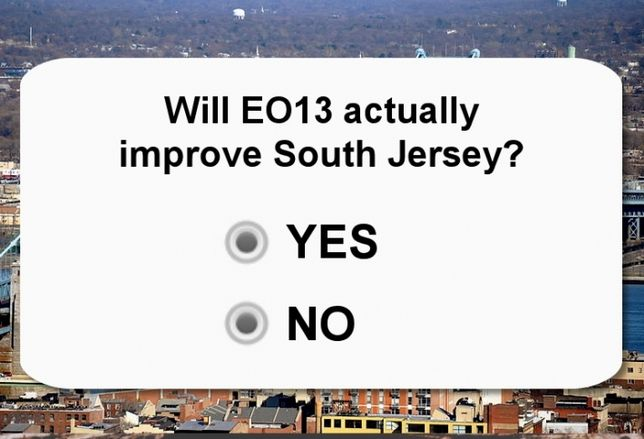 YOU TELL US: EO13 and South Jersey