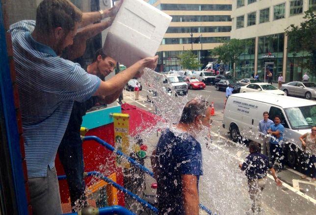 Bisnow and the Ice Bucket Challenge