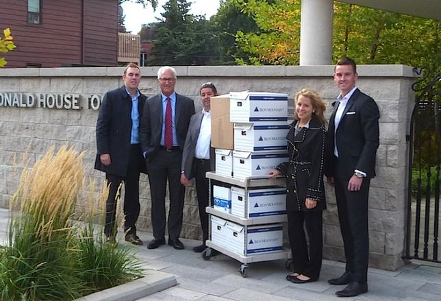 Avison Young Gets into the Giving Spirit