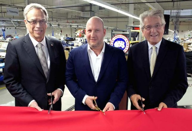 Canada Goose Opens New HQ