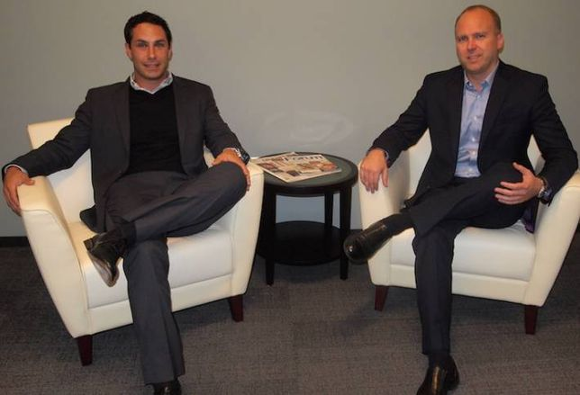 Alpha Capital CRE managing partners Anthony Longo (left) and Michael Riley