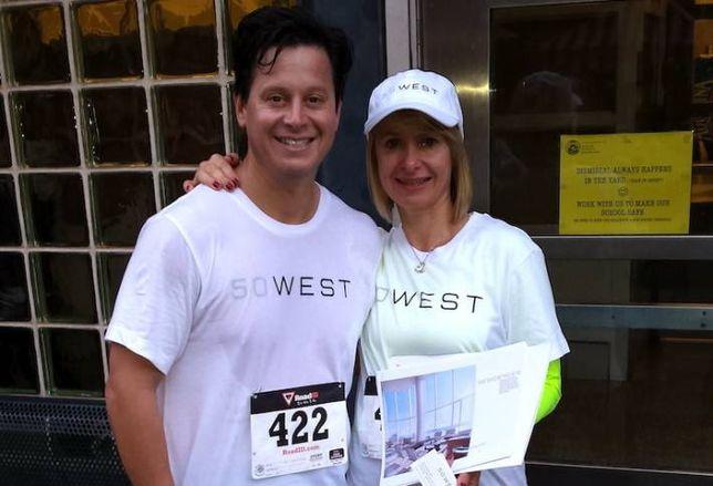This Guy Took Sales Calls  While Running the Marathon