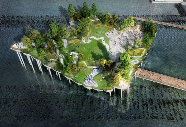 $170M Floating Park Planned For Hudson River