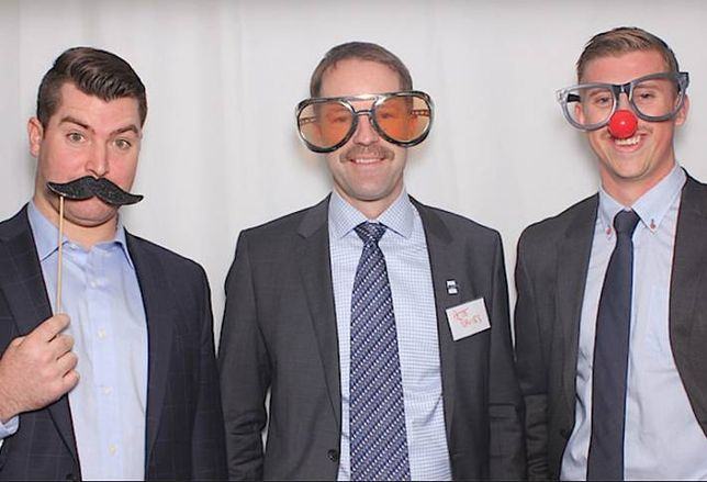 Brokers Savour Moustachioed Moment