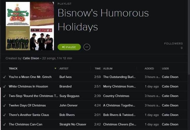Listen to Bisnow's Humorous Holidays Playlist!