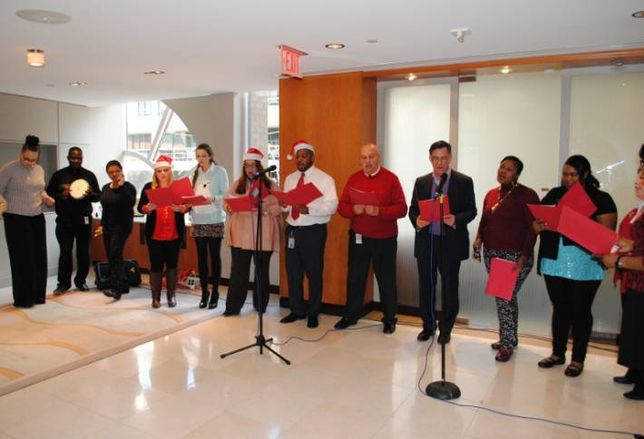 Holidays are a Cause for Song at Kelley Drye