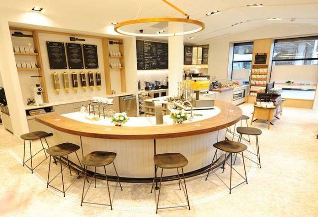 Second Cup Opens Cafe of the Future