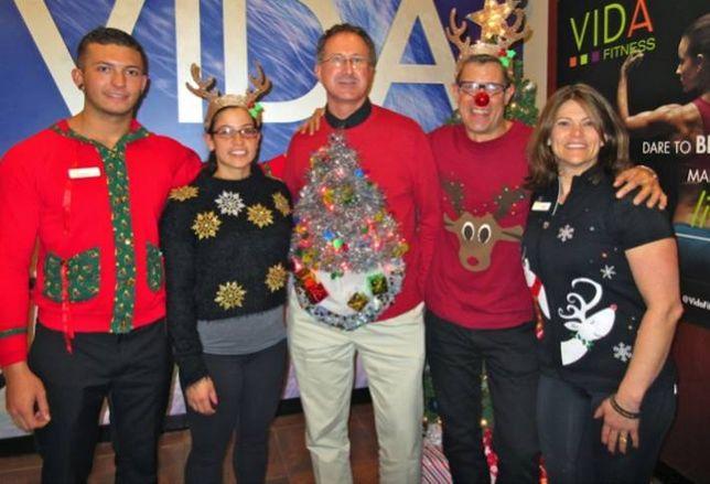 Ugly Sweaters at VIDA!