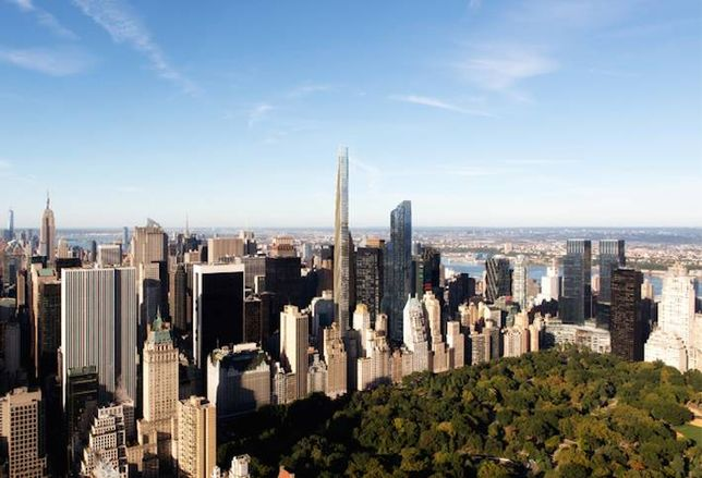 111 W 57th St to Claim Title of Tallest Building in the West