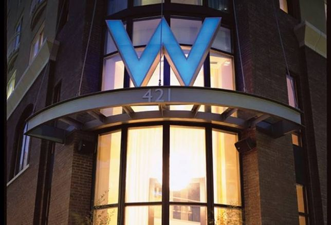W Hotel Gets Refi Package
