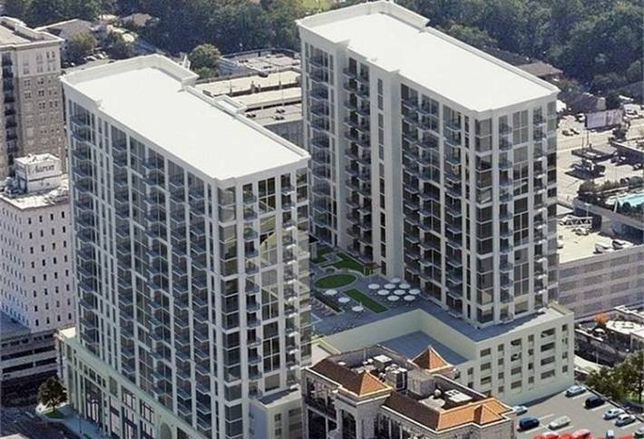 Apartment Rents Top in Buckhead Village