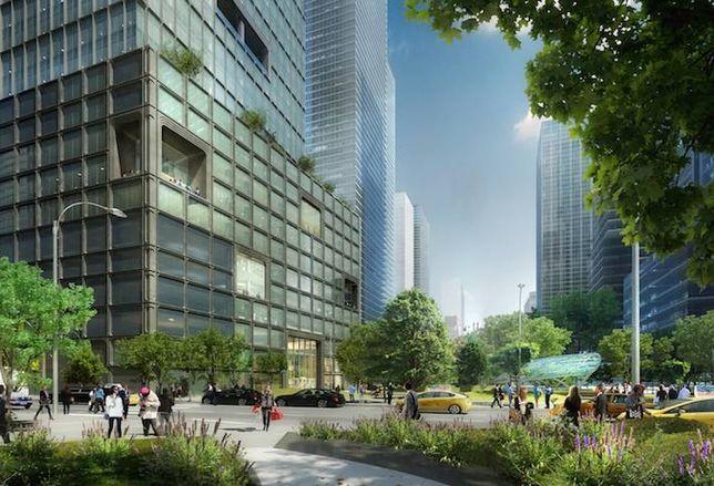 55 Hudson Yards Breaks Ground