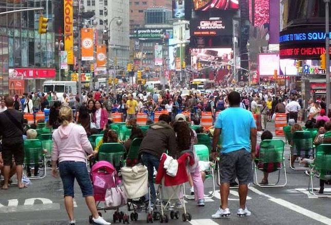 Is a Successful Times Square Pushing Businesses Out?
