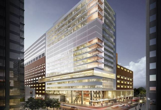 Bondfield Tapped to Redevelop St. Michael's Hospital
