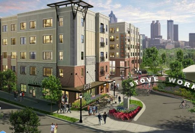 Trammell Crow Residential Moves on Krog Street Project