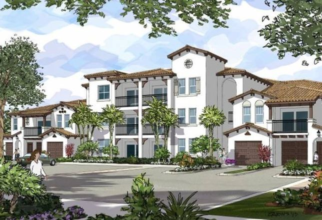 Apartments Under Way on Former Golf Course