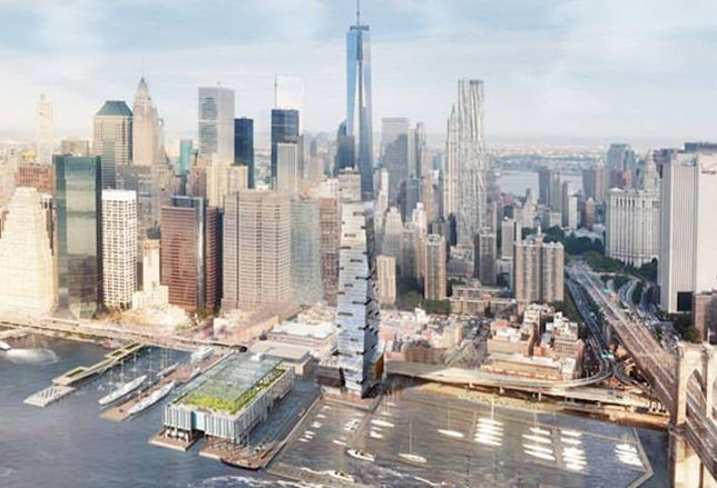South Street Seaport Project Held Captive