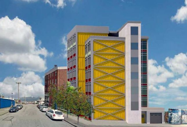Community Wants Shipping-Container Building To Have Retail