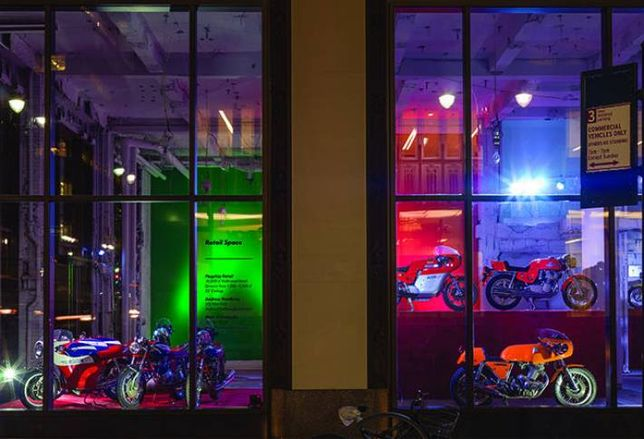 RFR Shows Off 285 Madison with Rare Italian Motorcycles Exhibit