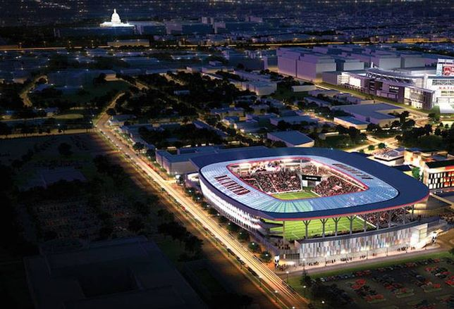 Land for DC United Stadium Could Face Eminent Domain