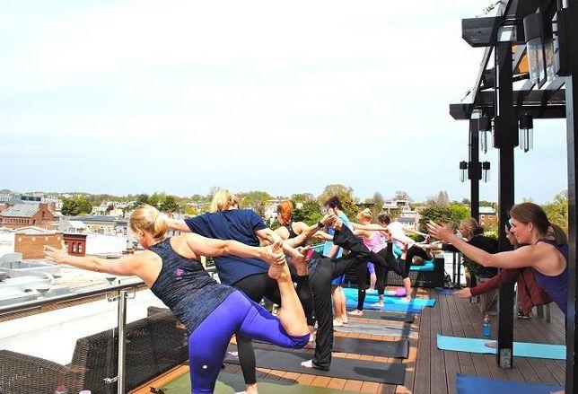 Best Buddies Rooftop Yoga!