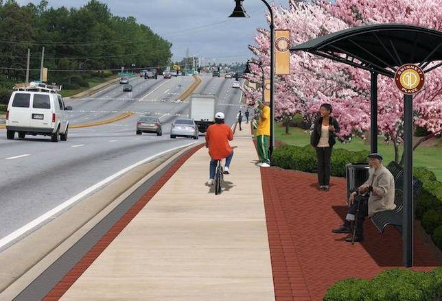Gwinnett Place: Green Light for Pedestrians