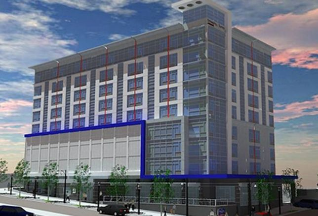 Springhill Suites Springing Up Downtown