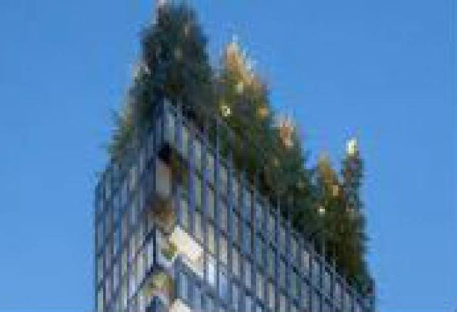 Downtown Resi Tower Will Have a Forest on the Roof