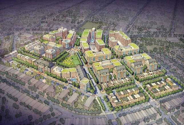 Mid-City Scales Back Brookland Manor Expansion
