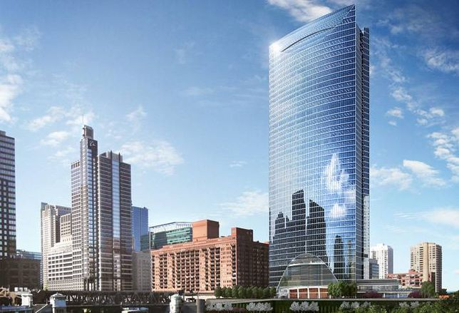 Check Out the West Loop's Latest Massive Office Tower