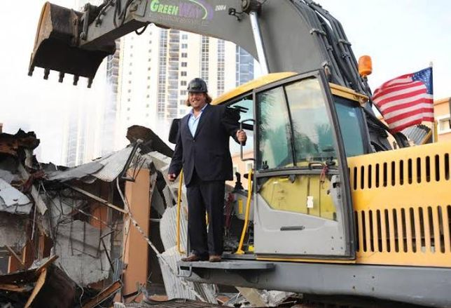 Demolition Party for Gil Dezer