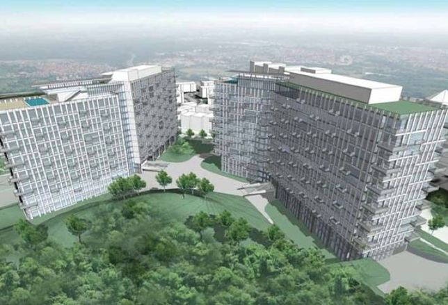 625 Resi Units Planned for Pooks Hill in Bethesda