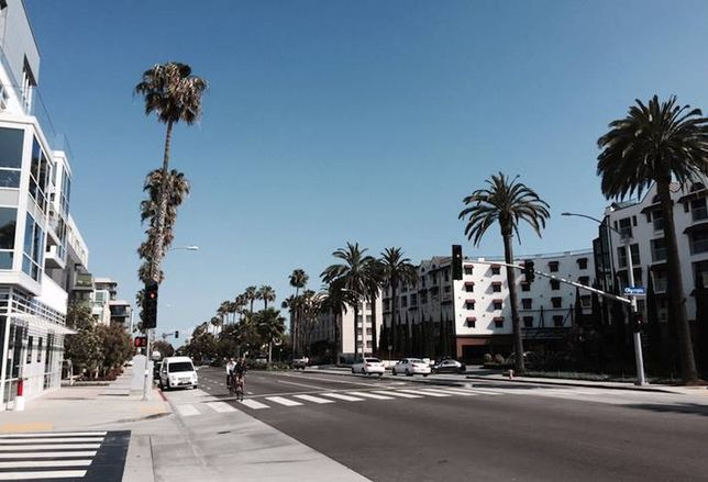 A New Restaurant Row in Santa Monica