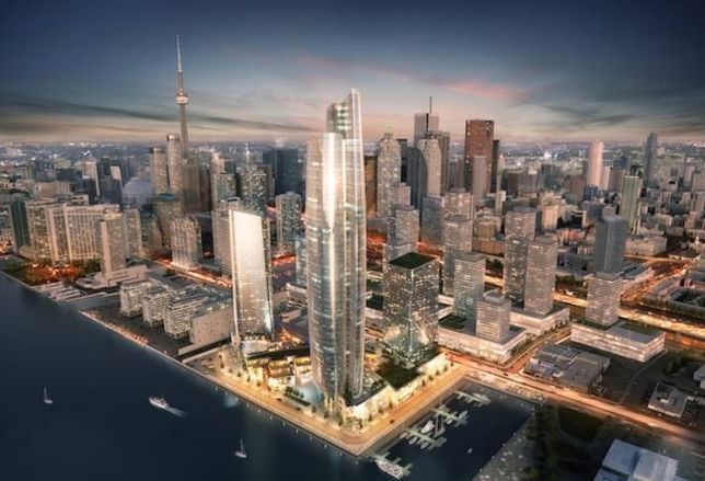 100-Storey Tower on the Toronto Waterfront?