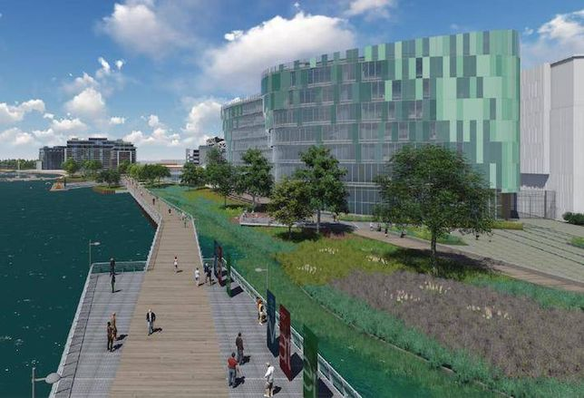 DC Water Plans New HQ on Capitol Riverfront