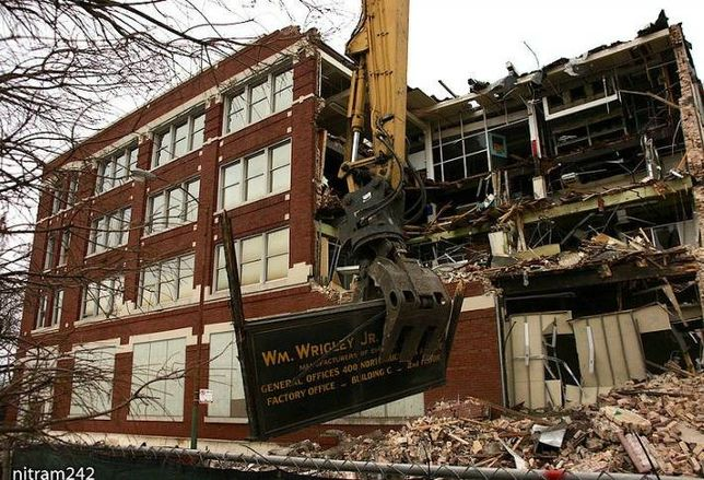 The Former Wm Wrigley gum plant in Chicago.
