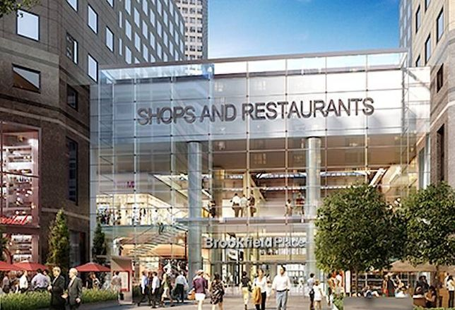 GGP Takes Over Leasing at Brookfield Place