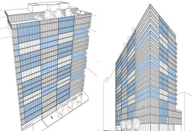 Printers Row Apartment Tower Indefinitely on Hold